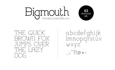 Fonte Bigmouth
