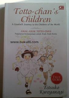 Buku Tetsuko kuroyanagi seri Anak-anak Toto Chan