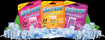 GoFress Menghilangkan Bau Mulut