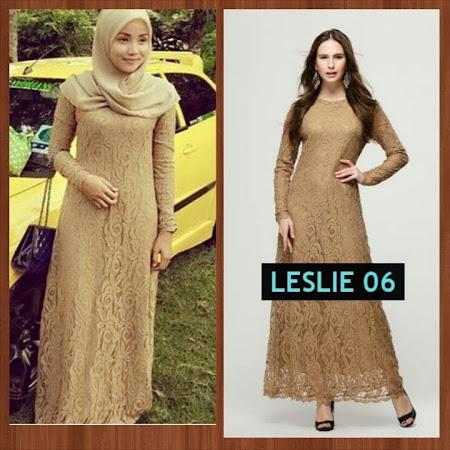 Dress Menawan Exclusice Lace Chiffon Full Lining Tidak Jarang dan Sangat Menawan