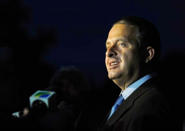 acidente aéreo que matou o candidato à presidência pelo PSB, Eduardo Campos