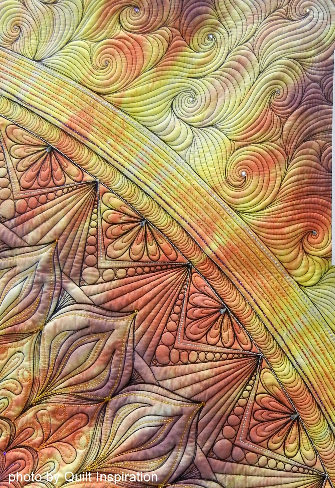 Modern Hand Quilting Patterns : Quilt Inspiration: Modern Quilt Month: Contemporary Art Quilts