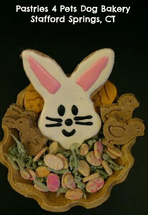 Edible Easter basket for dogs