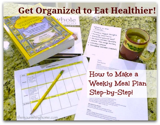 meal plan organized