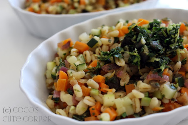 Ebly with Vegetables and Herbs