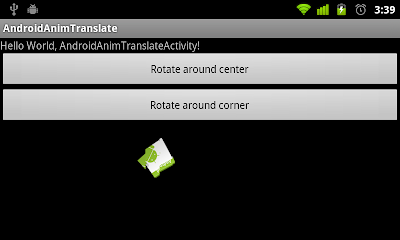 Rotate around corner