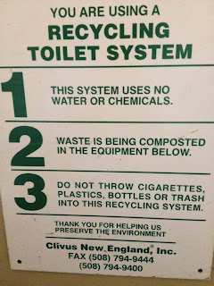 Recycling Toilet System at Walden Pond