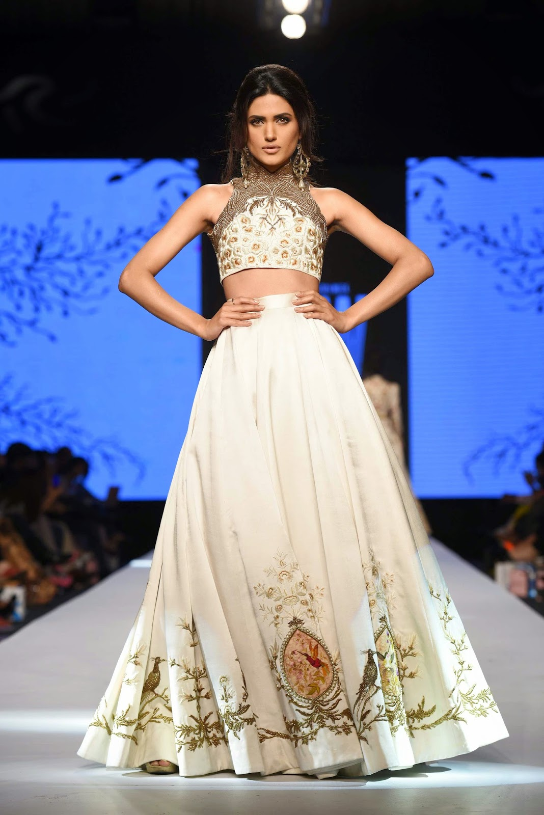 nadia ali showstopper for zaheer abbas TFPW15
