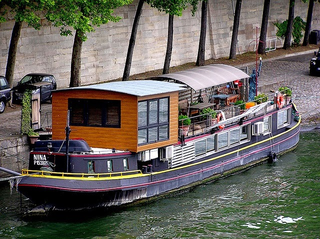 mandy bla bla inspiration habiter une p niche canal boat. Black Bedroom Furniture Sets. Home Design Ideas
