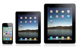 iPhone, iPad Mini och iPad
