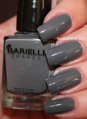 Barielle One Shade of Gray nail polish