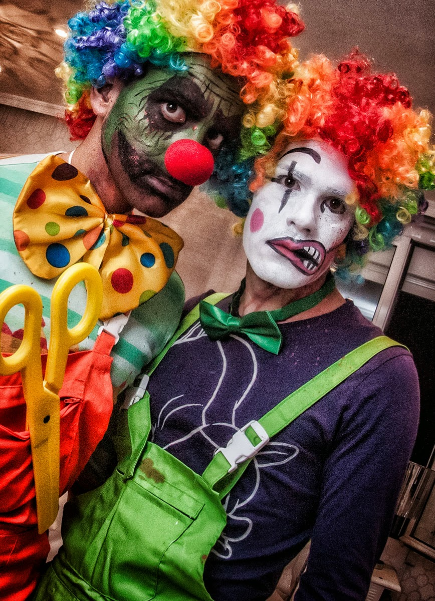 clowns killers Halloween 2014