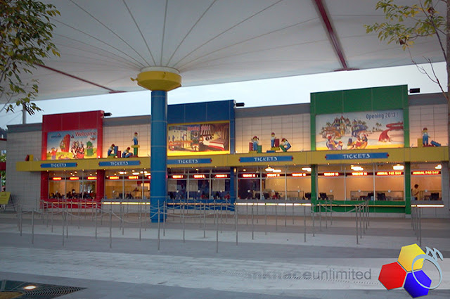 mknace unlimited™ | Legoland getaway : legoland ticket counter