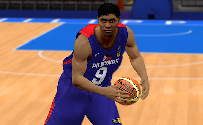 FIBA 2K13 Ranidel De Ocampo Cyberface Patch