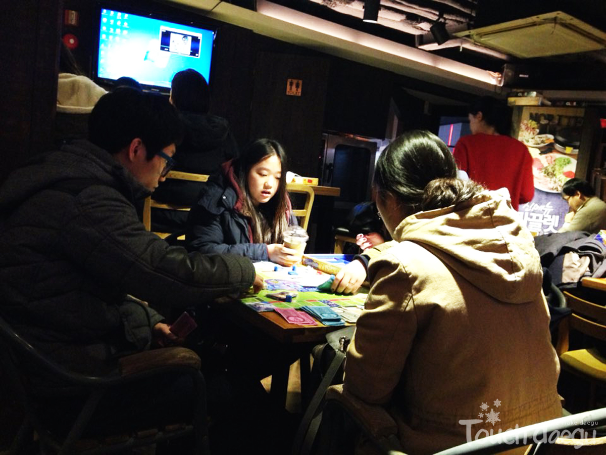 NORITEO(놀e터) Board Game Cafe in Daegu, Korea