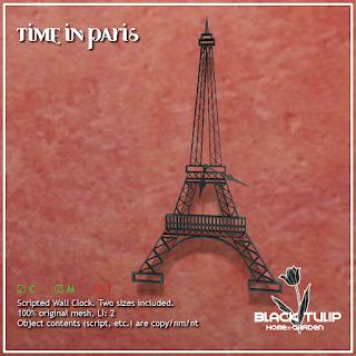 Time in Paris