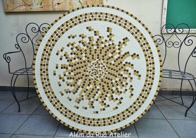 Inspira o e divers o modelos de mosaico - Como pintar mosaicos ...