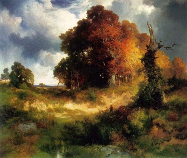 Autumn - Thomas Moran - The Philbrook Museum of Art, Tulsa, Oklahoma