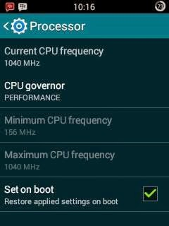 set cpu getux kernel on galaxy y totoro cyanogenmod 11