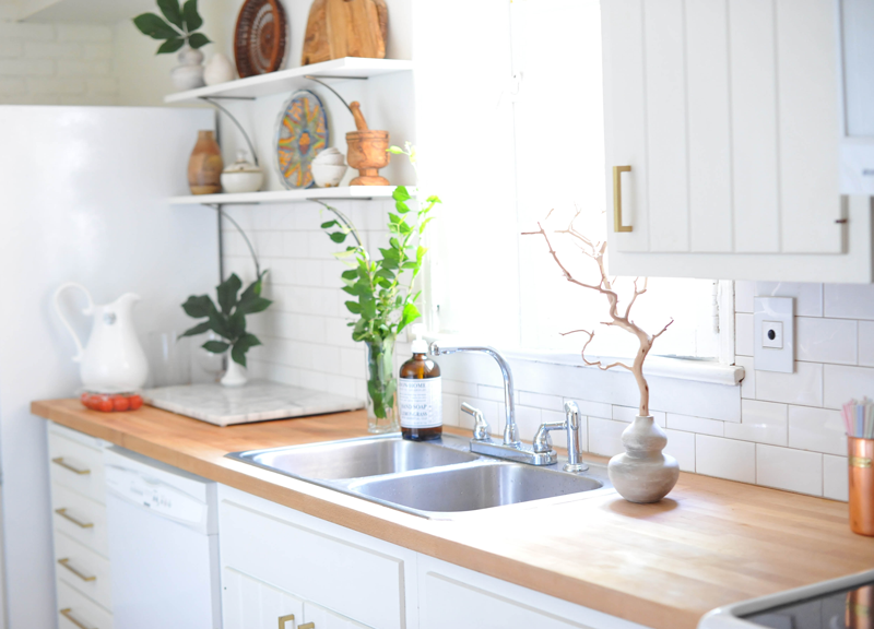 Kitchen DIY Update |  adorne by legrand