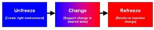 criticism of the kurt lewins change theory Lewins change theory his most influencial theory was his model of the change process in human systems kurt lewin theorized a three-stage model of change that is.