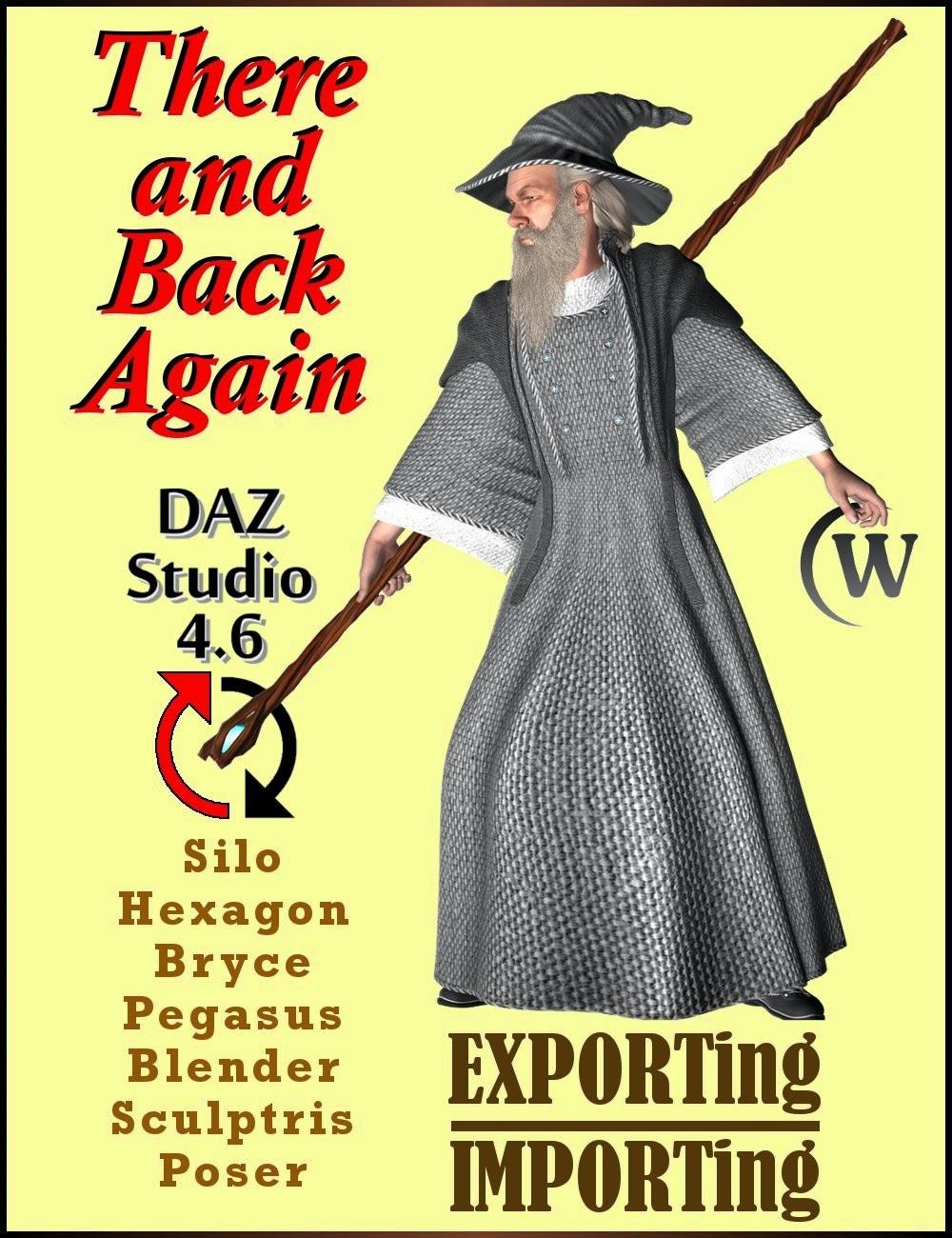 Un aller et retour: Exportation et importation de modèles utilisant DAZ Studio 4