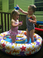 Pool Time for The Quirky Kids ~ TheQuirkyConfessions.com