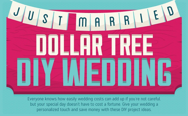 Image: Dollar Tree DIY Wedding