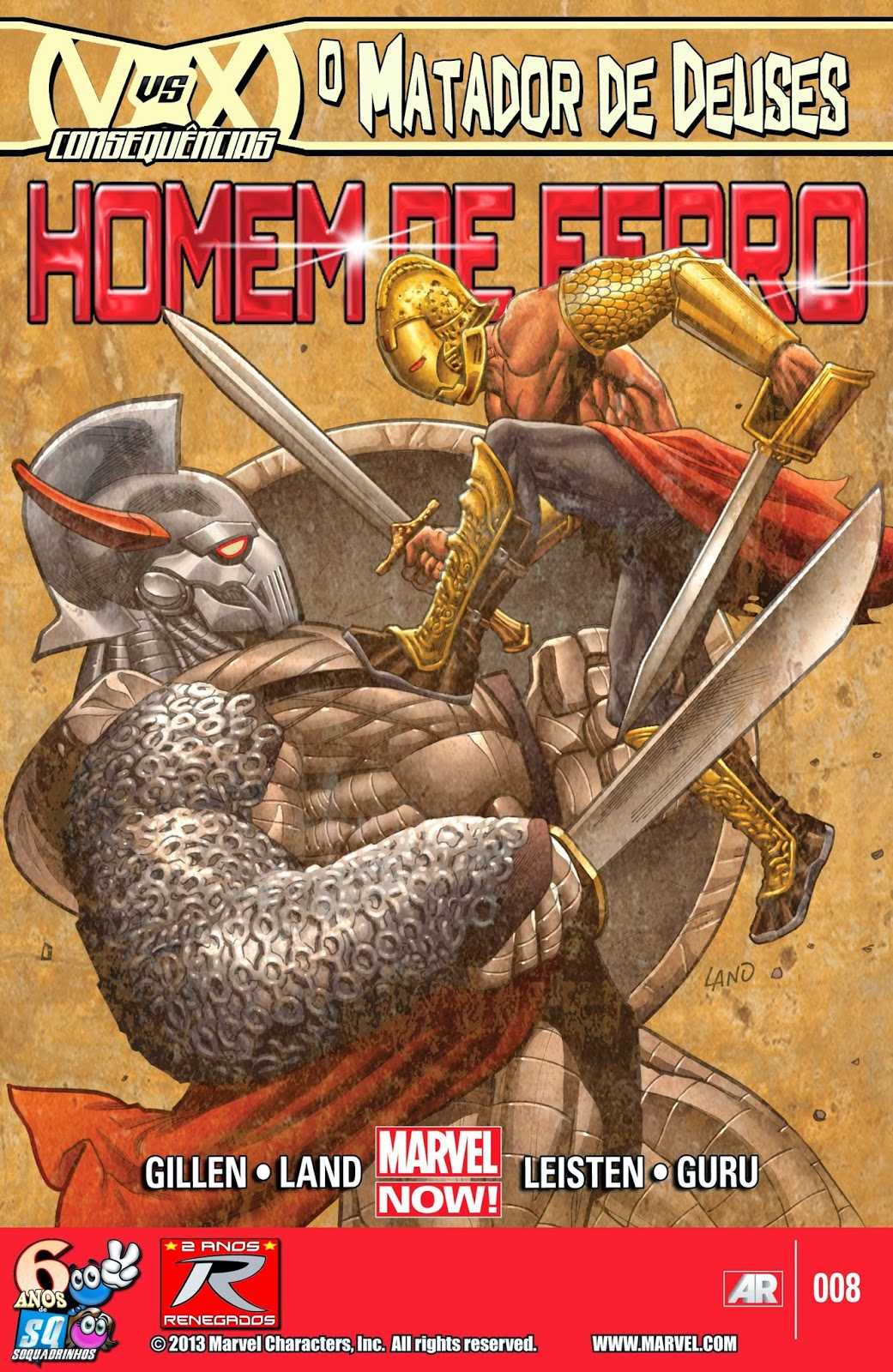 Nova Marvel! Homem de Ferro v6 #8