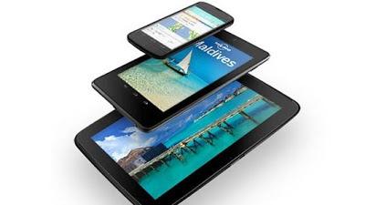 Nexus 4, Nexus 7 & Nexus 10