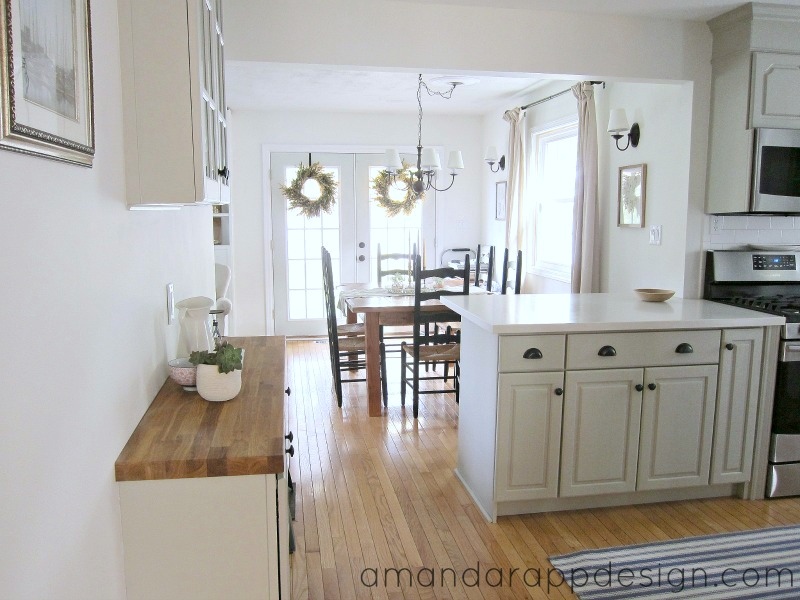 Amanda rapp design before after kitchen makeover for Kitchen cupboard makeover before and after