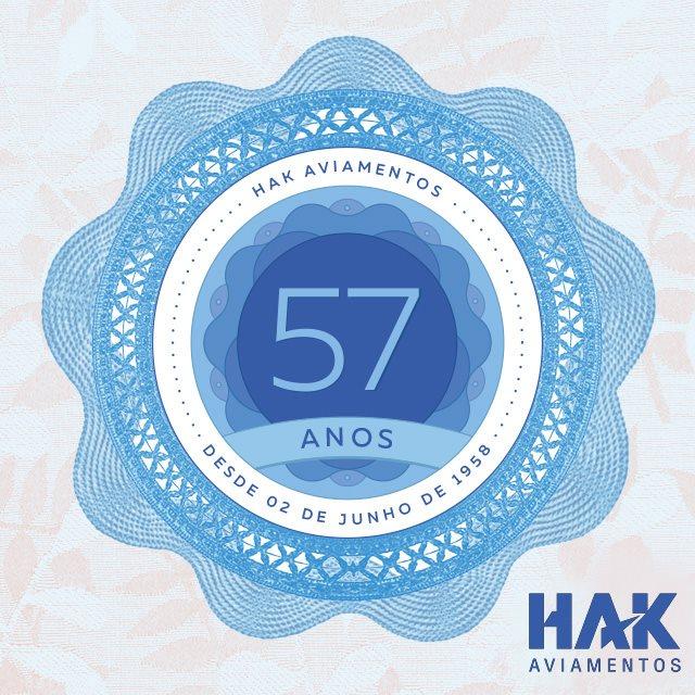 Logo de comemoração HAK