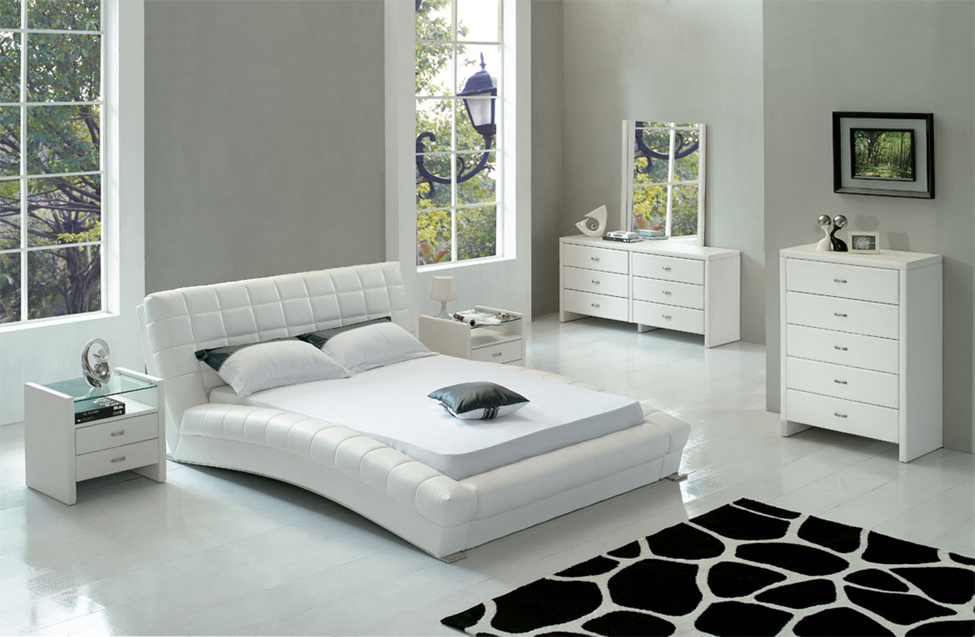 White Bedroom Furniture: The Special Simple