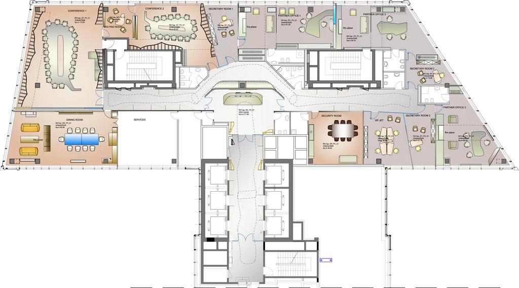 floor plan 02 drawing courtesy of iosa ghini associates capital group interiors capital group office interior