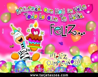 Cumpleaños zea