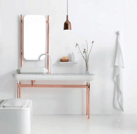 A Home In The Making inspired Copper Accents