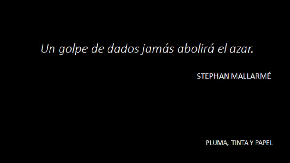 STEPHAN MALLARMÉ