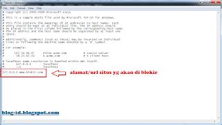 Cara Blokir Situs di Komputer