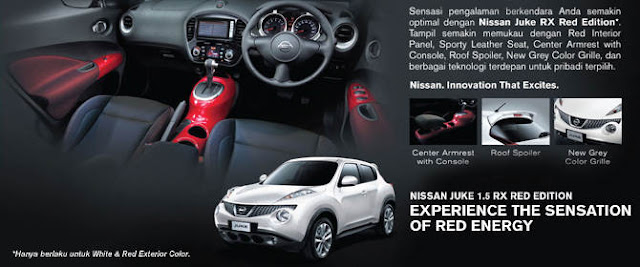 NISSAN JUKE RED EDITION