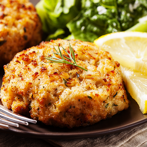Baked fish cake apna food tv for Baked fish cakes