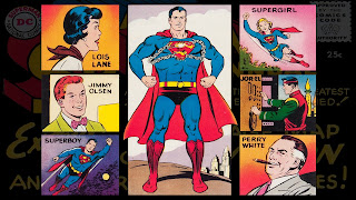 Neato Coolville  COMIC BOOK WALLPAPER  SUPERMAN