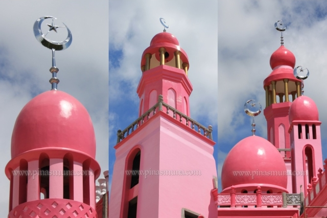 Pink Mosque or Masjid Dimaukom of Maguindanao