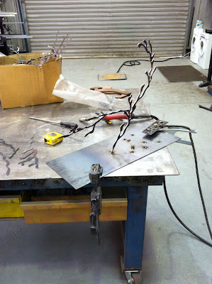Corten Steel Tree