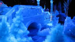 Ice scene.