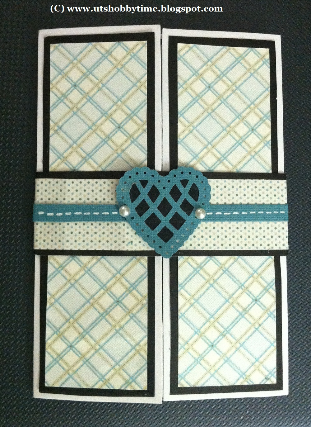 handmade valentines day greeting card /gate fold card ideas