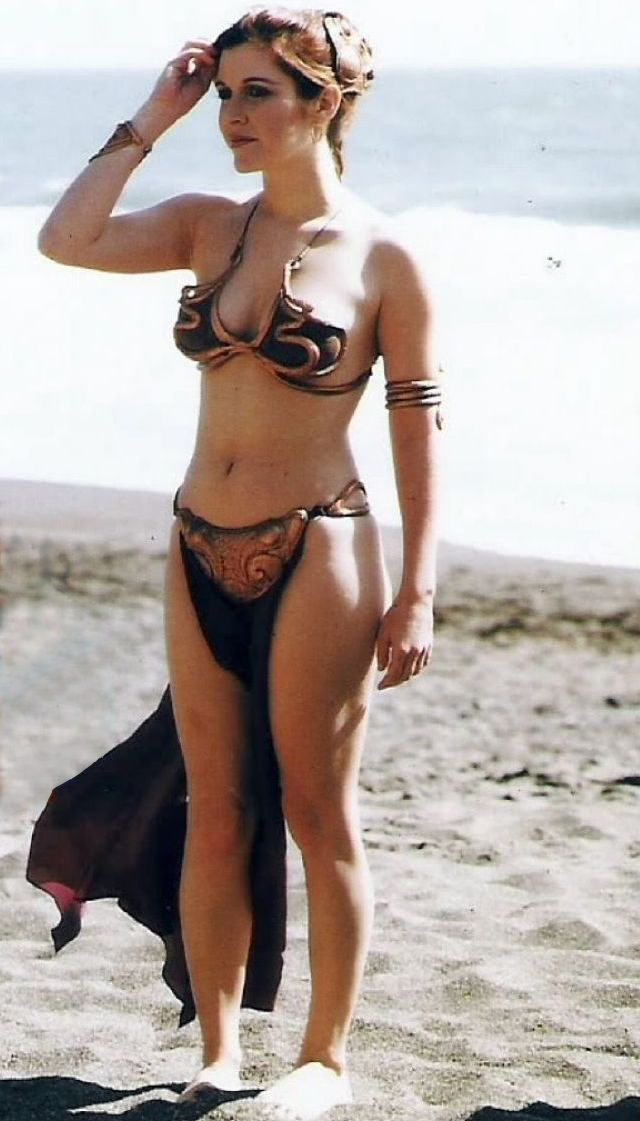 La sexy Carrie Fisher