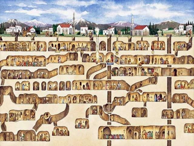 new illuminati: Underground Cities and Networks Around the World