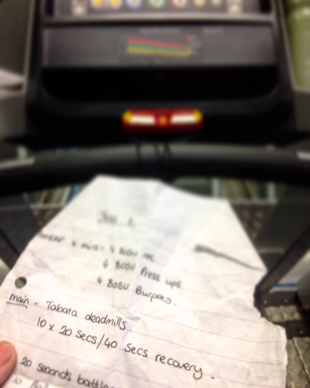 FitBits | Deadmill intervals - Brighton gym