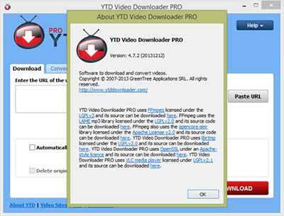 YTD Video Downloader PRO 4