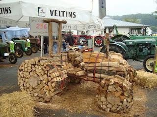 Traktor des Gauklers